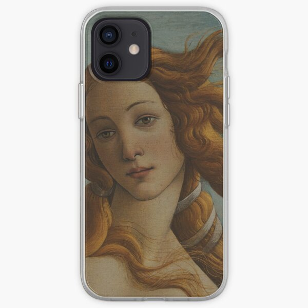 Botticelli - The Birth of Venus Detail 1 of 2 iPhone Soft Case