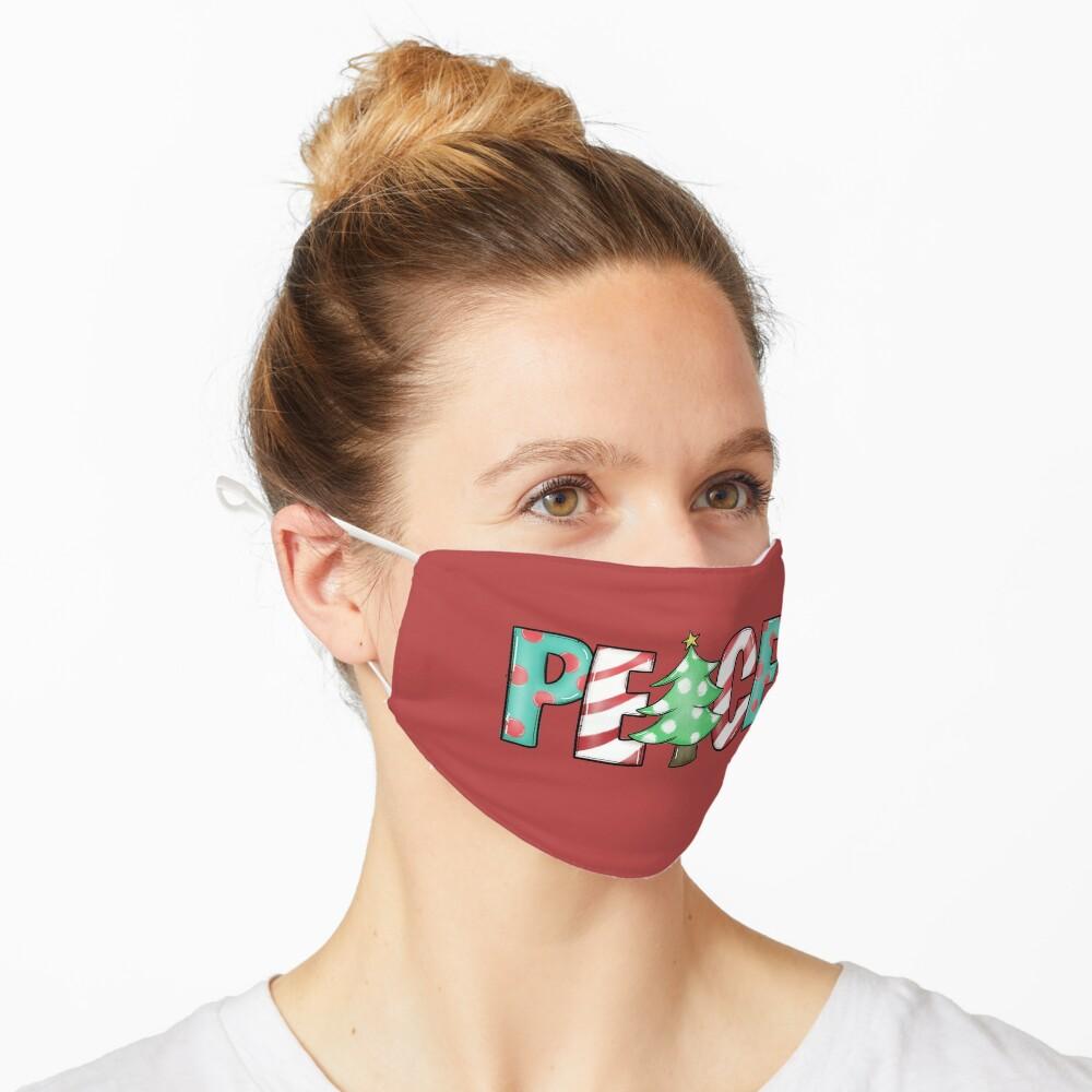christmas peace Mask