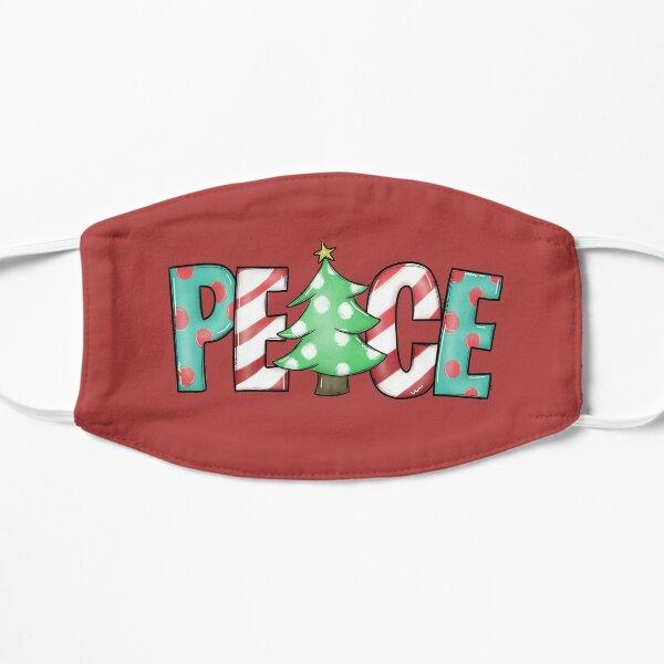 christmas peace Flat Mask