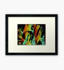 Kids Room - Fun Abstract Art Framed Print