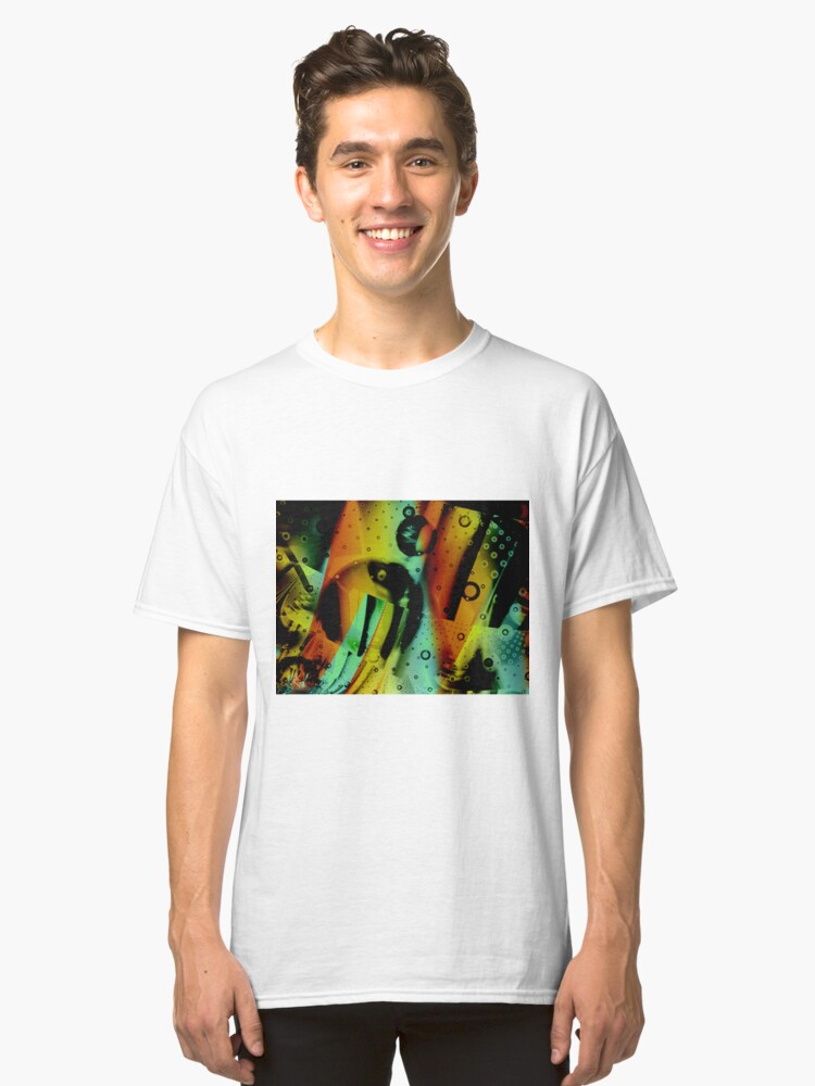 Alternate view of Kids Room - Fun Abstract Art Classic T-Shirt