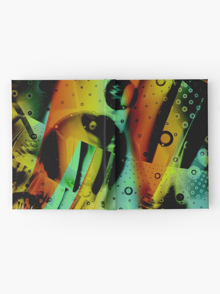Alternate view of Kids Room - Fun Abstract Art Hardcover Journal