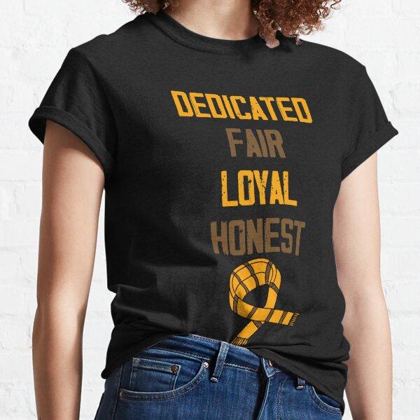 Dedicado, Justo, Leal y Honesto Camiseta clásica