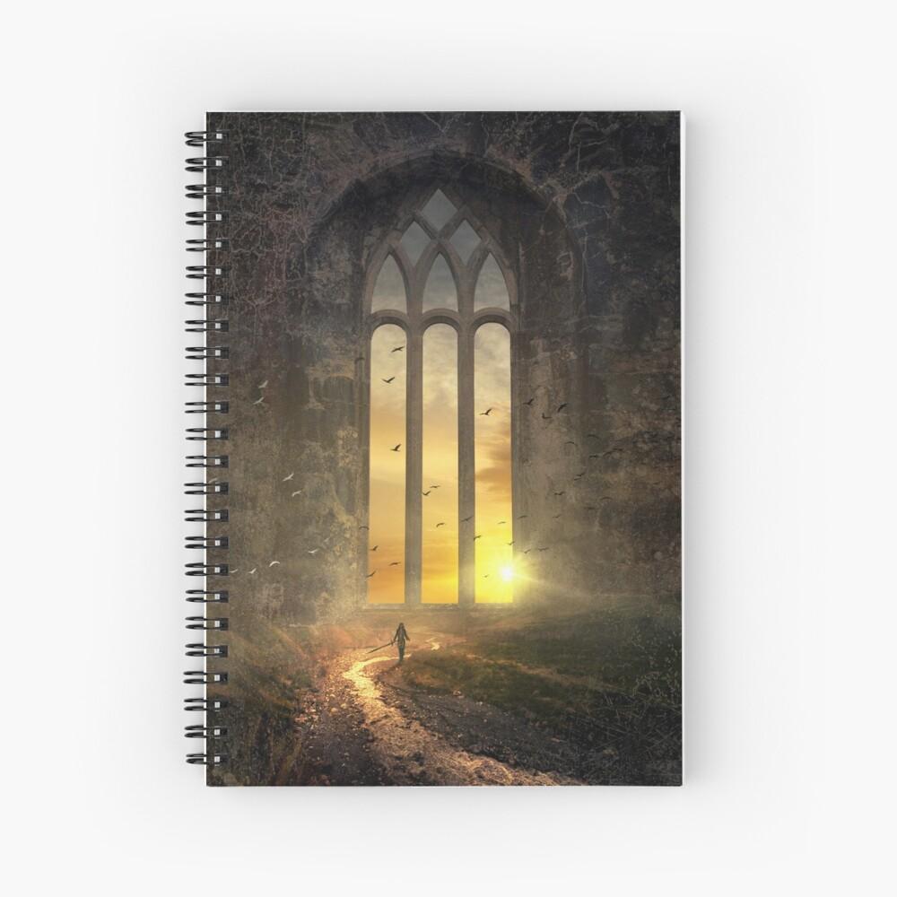 Das magische Fenster - The magic Window Spiralblock