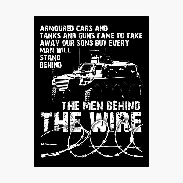 The Men Behind the Wire - Internment Ireland 1971 Photographic Print