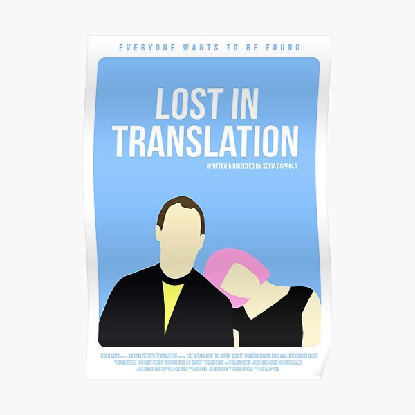 Affiche du film Lost In Translation Poster