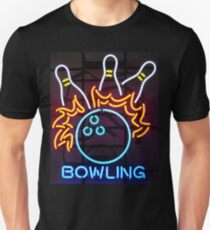 Neon Sign - Bowling Unisex T-Shirt