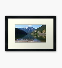 Ripple in the Cascade Mountains, Washington State, USA Framed Print