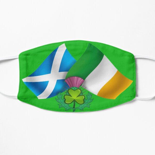 Ireland Scotland - Irish Scottish Flags & Emblems Flat Mask