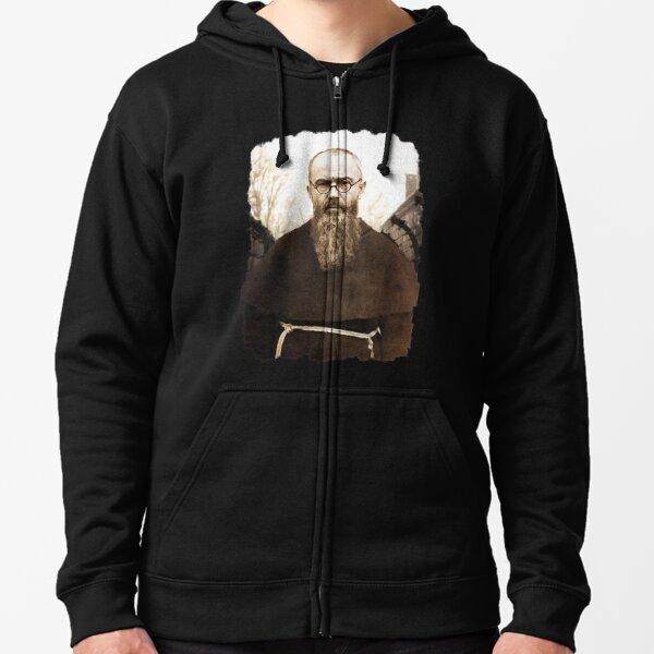 Saint Maximilian Kolbe Zipped Hoodie