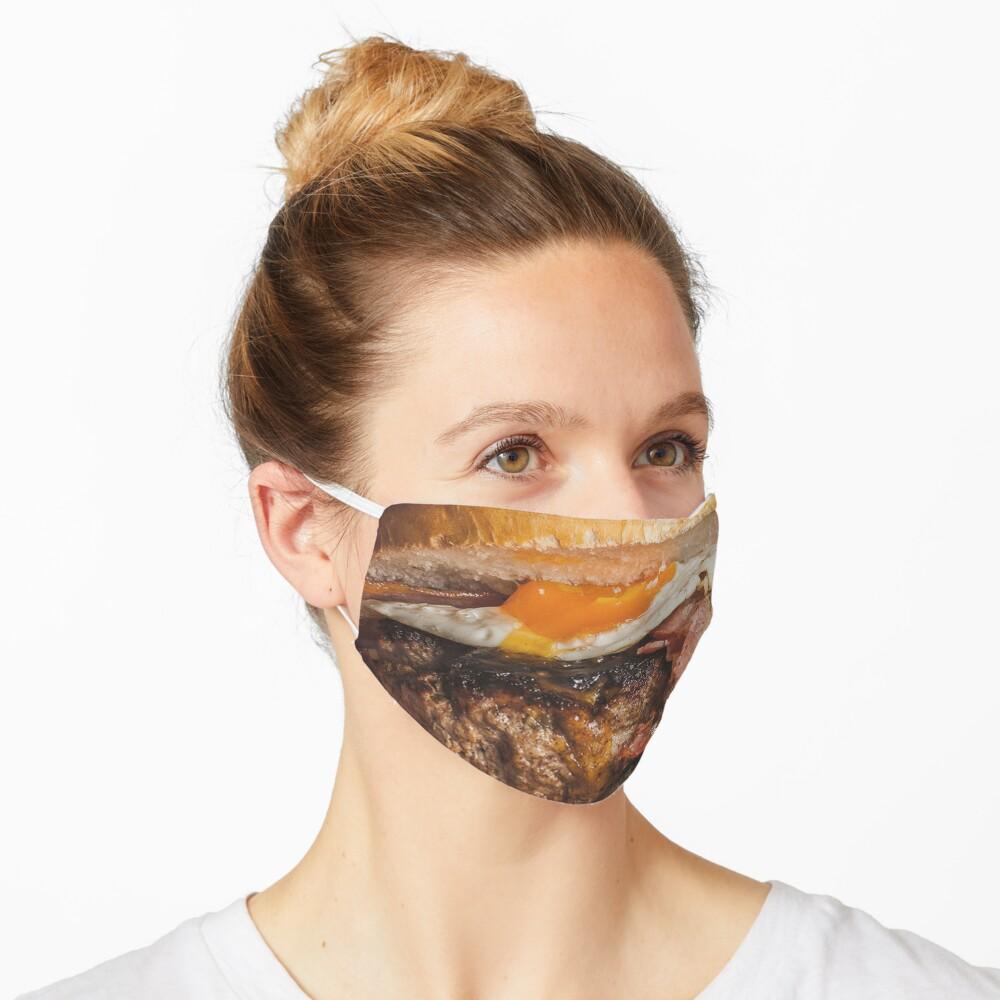 Hamburger face mask Mask
