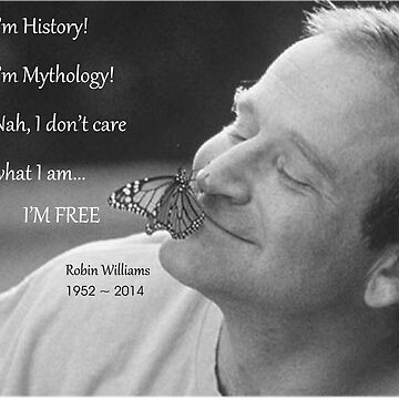 Robin Williams, quote from Aladdin by TequilaSheila