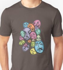 faces in their places T-Shirt