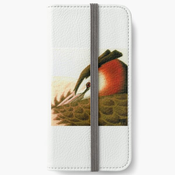 Great Crested Grebe iPhone Wallet