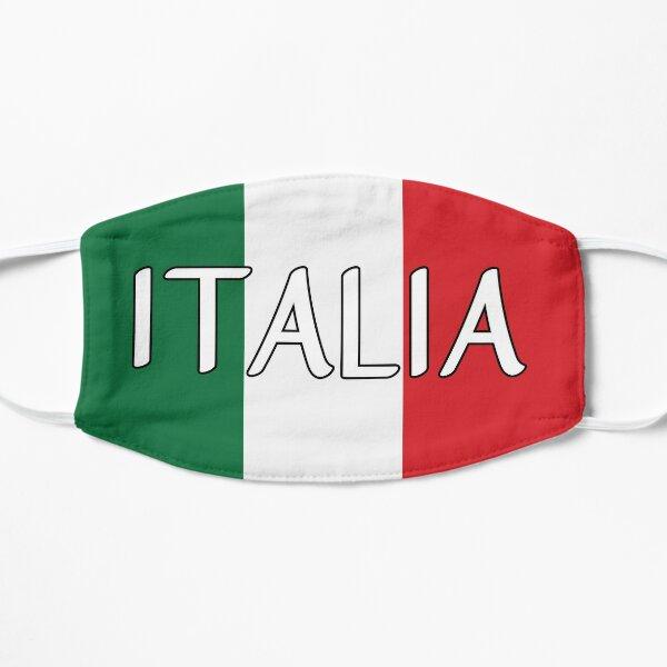 Italy flag Flat Mask