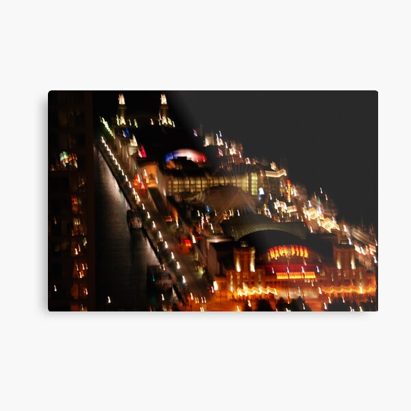 Chicago IL Navy Pier I  Metal Print