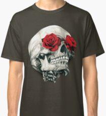 Rose Eye Skull Classic T-Shirt