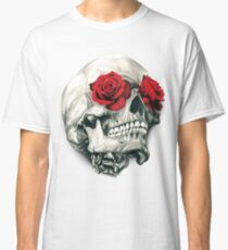 Rose Eye Skull Classic T-Shirt
