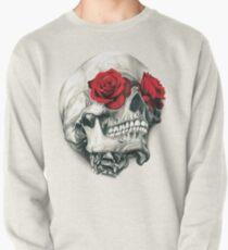 Rose Eye Skull Pullover