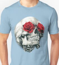 Rose Eye Skull T-Shirt