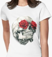 Camiseta entallada Rose Eye Skull