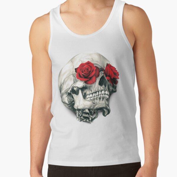 Rose Eye Skull Tank Top