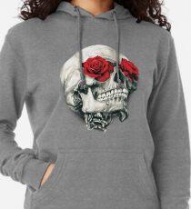 Rose Eye Skull Lightweight Hoodie