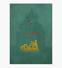 Ghibli Minimalist 'The Castle of Cagliostro' (Lupin III) Photographic Print