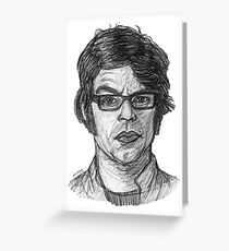 Jemaine Greeting Card