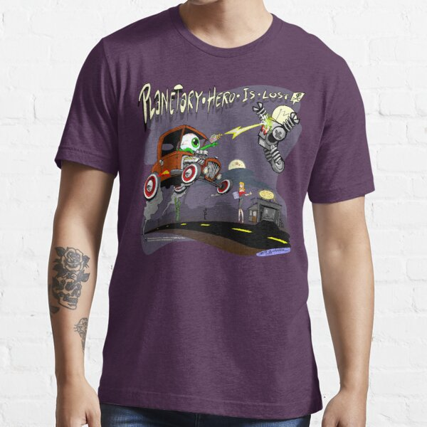 Planetary Hero is Lost - Design 2 Essential T-Shirt