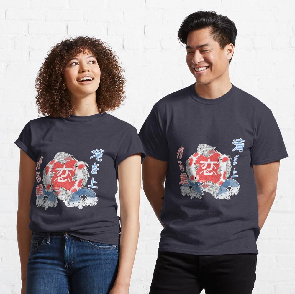 T-shirt classique «Carpes Koï»