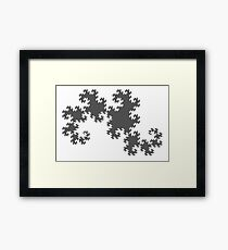 The Dragon Curve Framed Print