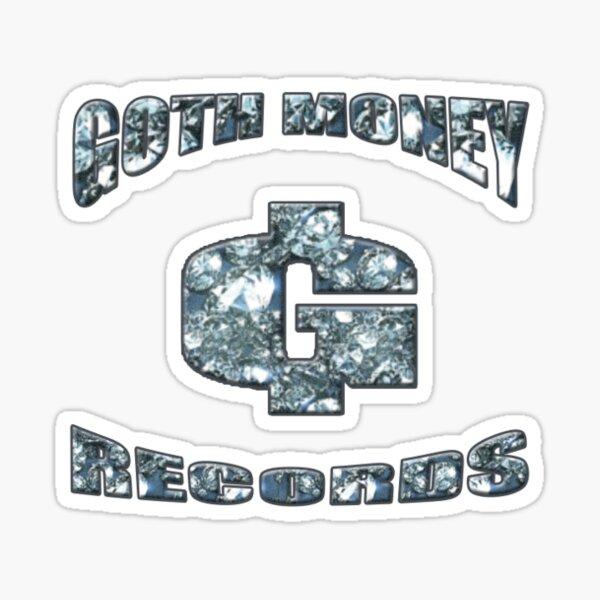 Goth Money Logo Sticker