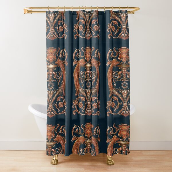 Searching For Signs of Intelligence Shower Curtain