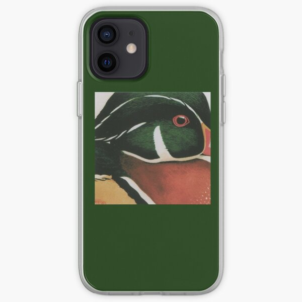 Wood Duck iPhone Soft Case