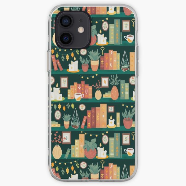 Hygge library iPhone Soft Case