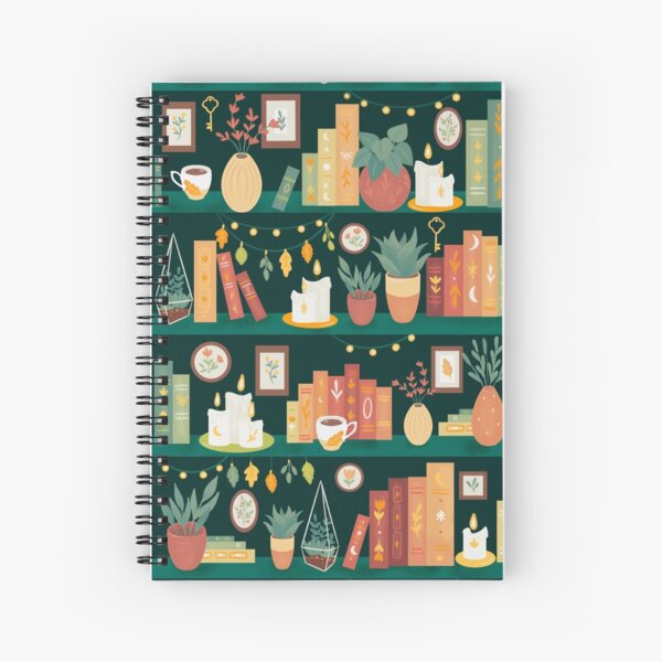 Hygge library Spiral Notebook