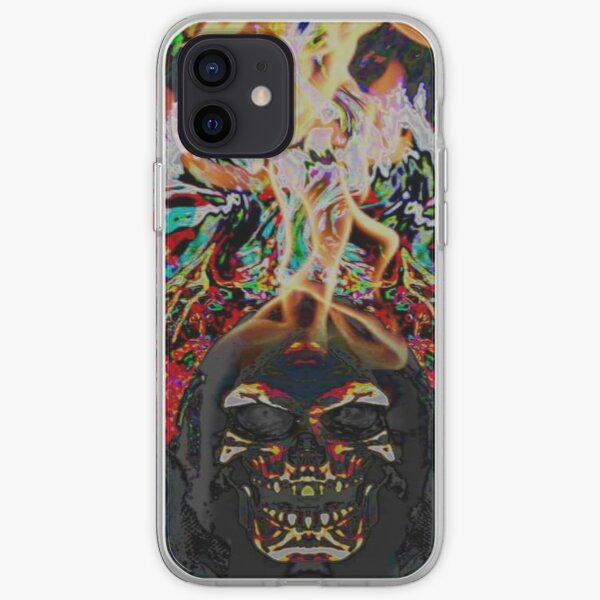 BurningReaper iPhone Soft Case