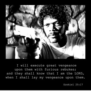 Samuel L Jackson Vengence by TequilaSheila