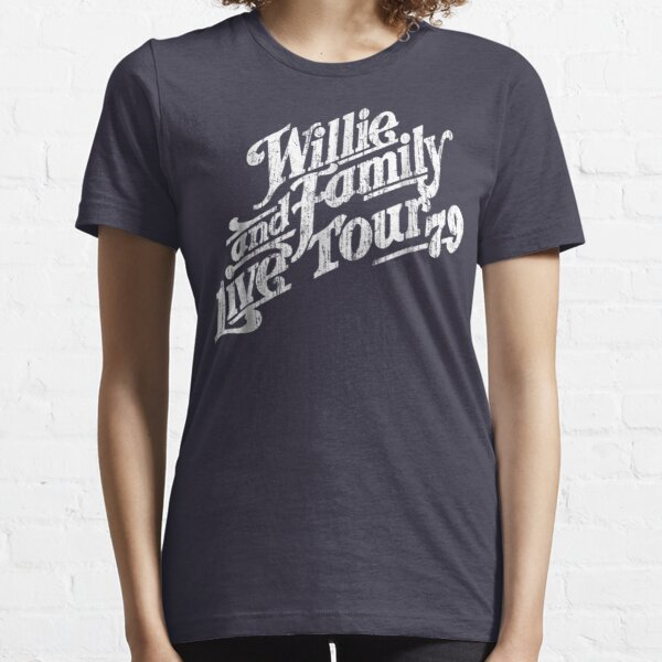 Mens Willie And Family Live Tour 79 Tee Essential T-Shirt