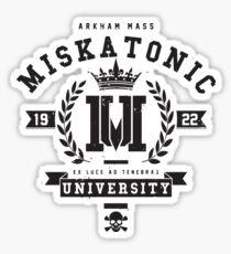 Miskatonic University Crest Sticker