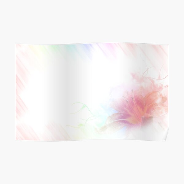 A delicate daylily - Hemerocallis Poster