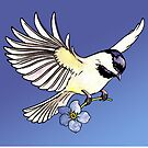 Chickadee  by Jessica Bone