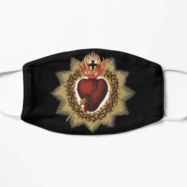 Sacred Heart of Jesus Catholic Flat Mask