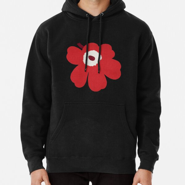 New marimekko unikko red design Pullover Hoodie