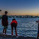 A evening of fishing.. by buddybetsy