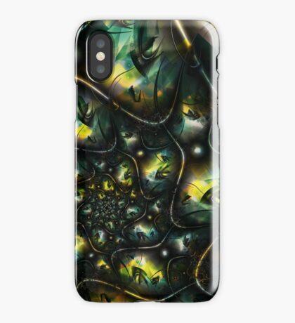 Alien Jungle iPhone Case