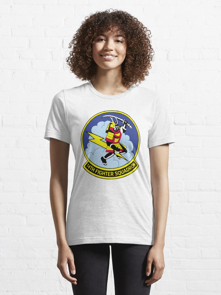 Alternate view of Model 80 - 14th Fighter Squadron Essential T-Shirt