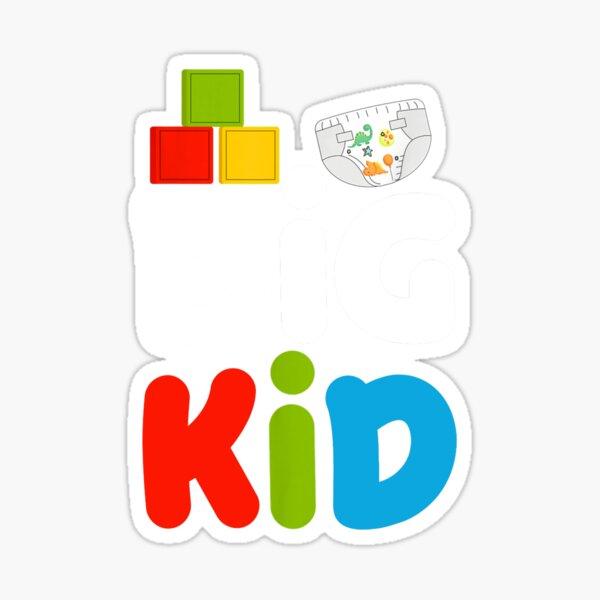 ABDL Vêtements Couches pour adultes Big Kid Pretend Sticker