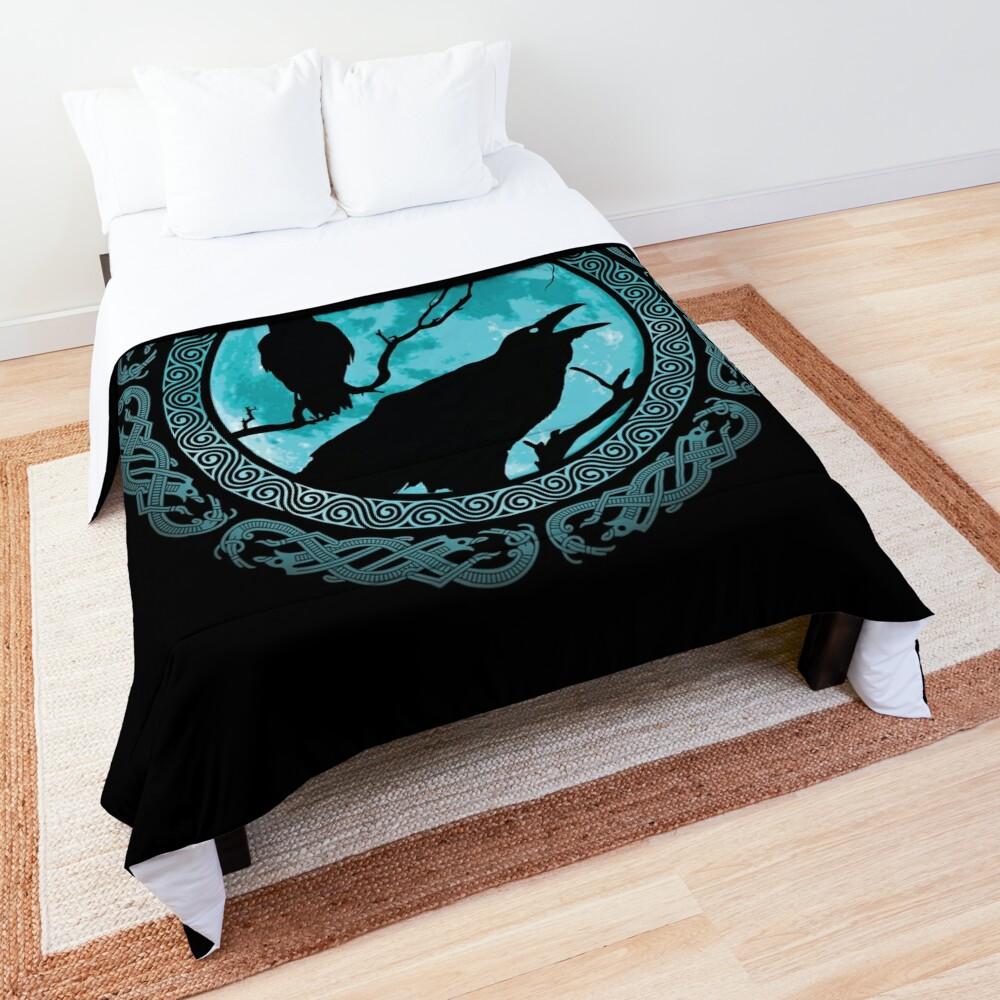 Hugin Munin Odins Ravens Comforter